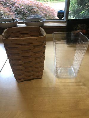 Longaberger baskets medium spoon basket for Sale in Auburn, WA