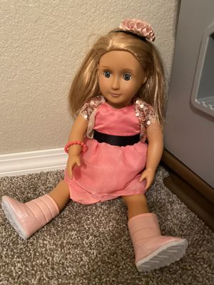 Our Generation Doll Like American Girl for Sale in Coppell, TX