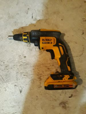 20v Dewalt Cordless sheetrock gun for Sale in Joplin, MO