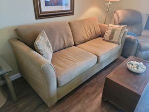 Couch with Queen Sleeper Sofa for Sale in La Quinta, CA