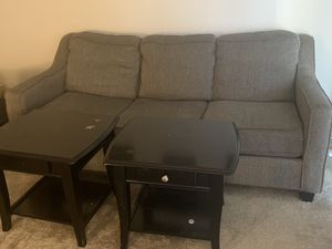 2 Couch , with 2 side table. for Sale in Kent, OH