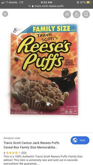 Travis Scott's cereal for Sale in Richmond, CA