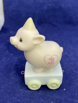 Precious Moments Birthday Train #3 Piggie for Sale in Allentown,  NJ