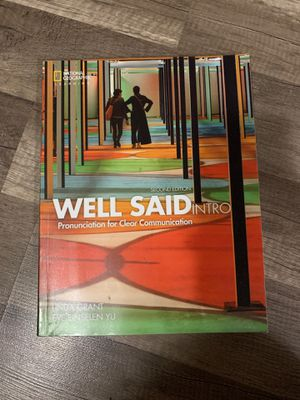 Well said intro second edition for Sale in Richmond, CA