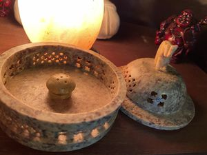 Soapstone Incense Burner w/ Lid for Sale in Round Rock, TX