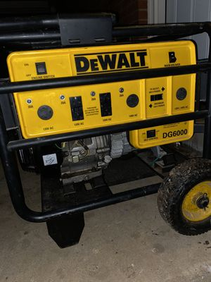 Generator DG6000 for Sale in Silver Spring, MD