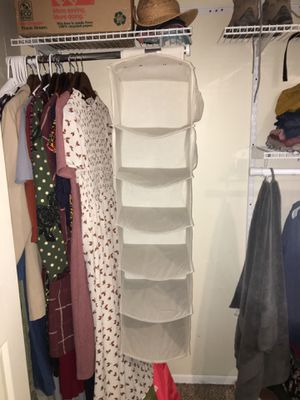 6 compartment closet organizer for Sale in Holladay, UT