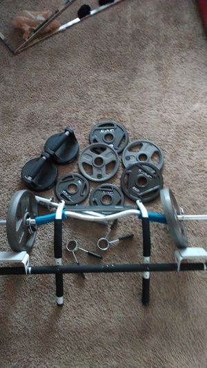 110lb Weight Set for Sale in Dunedin, FL