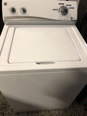 Kenmore top load washer high efficiency with warranty for Sale in Woodbridge, VA