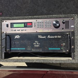 Peavey Classic Series 60/60 Stereo Tube Power Amplifier & DigiTech Preamp for Sale in San Francisco, CA