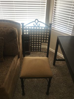 Iron Frame Office/Desk Chair for Sale in Scottsdale, AZ