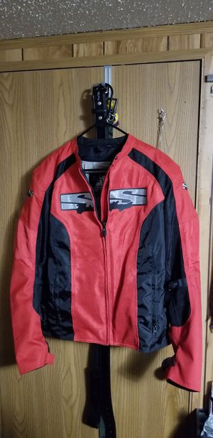 Speed and strength motorcycle jacket sz. large for Sale in Hilbert, WI