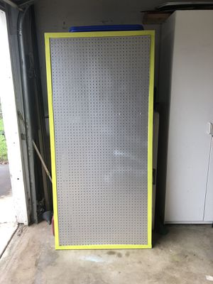 Nerf gun peg board, or great for garage tools for Sale in Clovis, CA