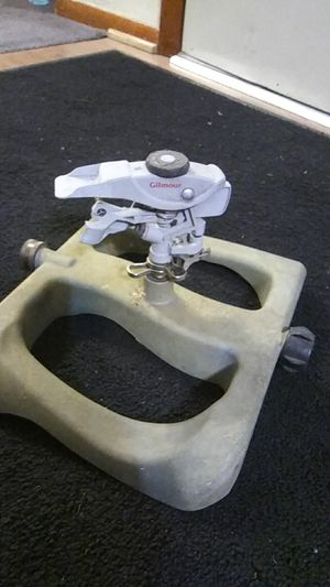 Gilmour sprinkler all Aluminum and Stainless even base for Sale in Norfolk, VA