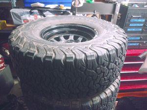 Bfg ko2 33 1250 15 on black steal rims for Sale in Surprise, AZ