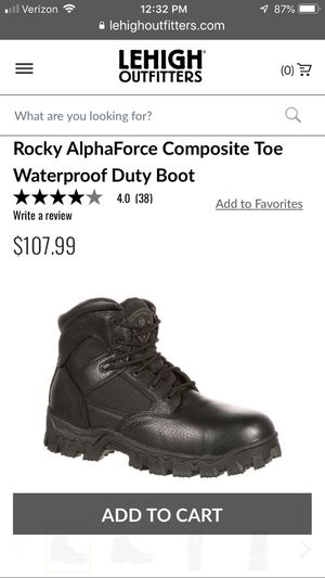 Rocky Composite Toe Boots for Sale in Glendale, AZ