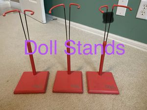3 DOLL STANDS for Sale in Lake Worth, FL