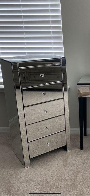 Mirror Glass Dresser for Sale in Orlando, FL
