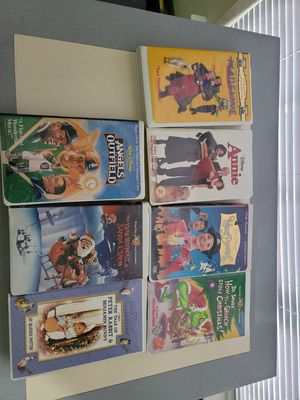 7 vhs movies for 5$ for Sale in Brentwood, NC