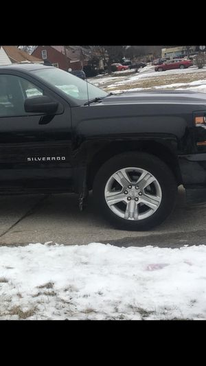 2 Chevy/GMC rims and tires for Sale in Westland, MI