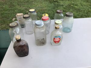 Antique bottles and jars for Sale in High Point, NC