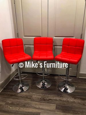 NEW Adjustable Bar Stools, Dining Chairs, Kitchen Chairs, Vanity Chair, Makeup Chair for Sale in Herndon, VA