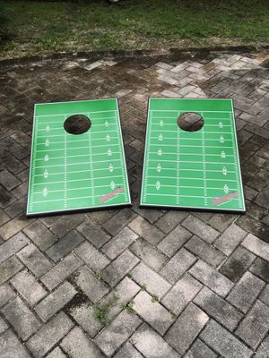 CORNHOLE FOOTBALL FIELD TOSS GAME for Sale in Fort Lauderdale, FL