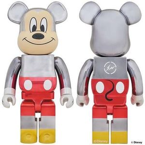 Disney limited edition Bearbrick 1000 % mickey mouse fragment 90th anniversary medicom for Sale in Monterey Park, CA