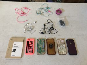iPhone headphones, for 5's & 6's, IPhone Covers for 6 - all $20 for Sale in Waddell, AZ