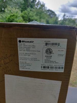 Blue air Dehumidifier New in box for Sale in Yelm, WA