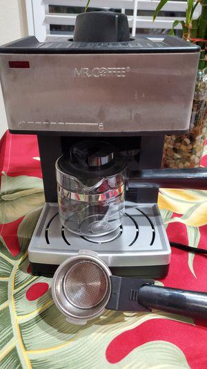 Mr. Coffee Steam Expresso/Cappuccino Maker for Sale in Vallejo, CA