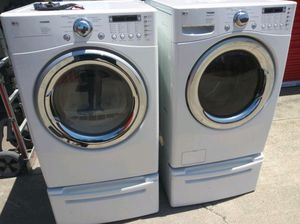 LG washer and electric dryer ⚡️⚡️⚡️ for Sale in San Leandro, CA
