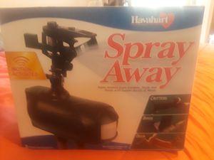 Spray away sprinkler for animals for Sale in Chula Vista, CA