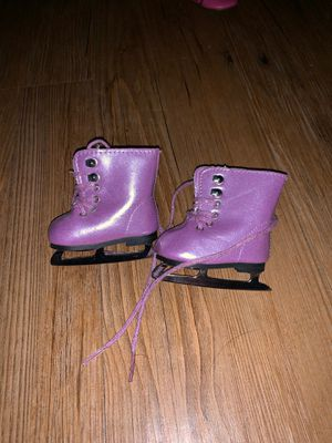 American Girl Doll purple ice skates for Sale in Haines City, FL