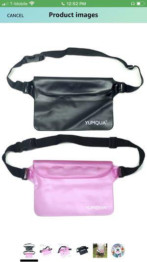 Fanny Pack ( 2 per pack) pink & black for Sale in Fort Lauderdale, FL
