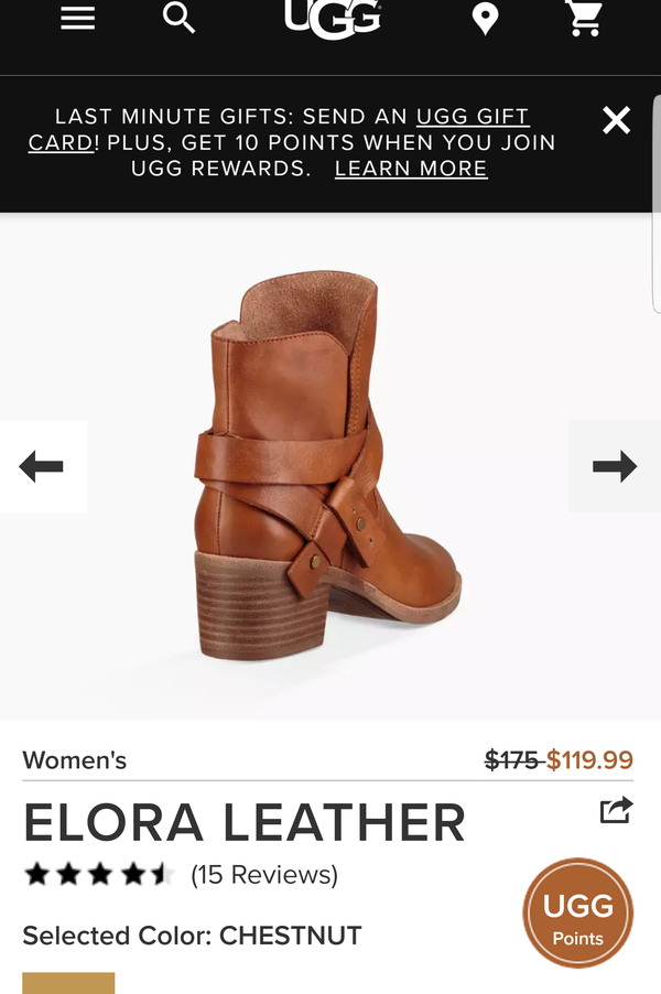 4aa8ba96141 Brand new Elora ankle boot uggs sz 5 for Sale in San Francisco, CA - OfferUp