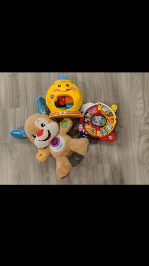 Baby toys. Learn and play puppy for Sale in Puyallup, WA