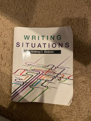 Writing Situations by Sidney I. Dobrin for Sale in Boca Raton, FL
