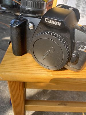 Rebel g cannon camera 100 or best offer film not digital for Sale in Largo, FL