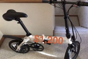 Electric Foldable Bicycle for Sale in Berwyn, IL