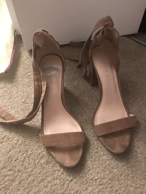 Madden girl ankle wrap heels for Sale in Shrewsbury, MA