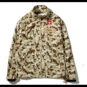 Stussy x Bape -Desert Camo Rain Jacket for Sale in Everett, WA