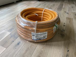"100' of 1"" Carlon Resi-Gard Corrugated Orange tubing (ENT) for Sale in Naperville, IL"