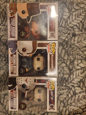 Horror Chase Funko Pops for Sale in Anaheim, CA