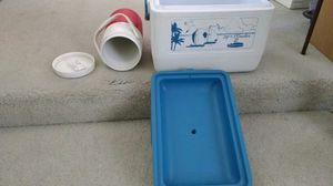 Portable lunch cooler & thermos for Sale in Rancho Cucamonga, CA