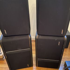Bose 301 Continental And Series IV Direct/Reflecting speakers for Sale in Falls Church, VA