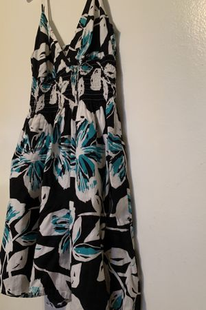 Blue/Black Floral Dress for Sale in Anaheim, CA