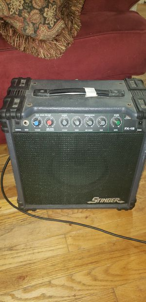 Stinger fx-1 solid state amp for Sale in Fort Worth, TX