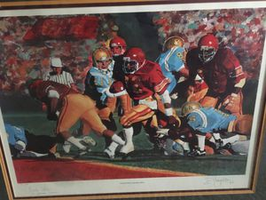 Signed Charles White USC vs UCLA for Sale in Whittier, CA