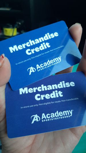 $214 Academy Store Credit for Sale in Austin, TX